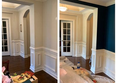 Carrie's Creations Dining Room Interior Painting
