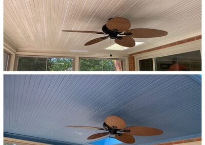 Carrie's Creations Porch Ceiling Paint Charlotte NC